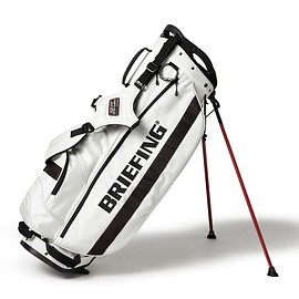 BRIEFING - BRIEFING × BEAMS GOLF / 40th別注 CADDIE STAND BAG SNOW WHITE
