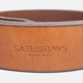 Saturdays Surf NYC - Rockaway Leather Belt