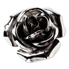 CASH CA × JAM HOME MADE - JAM ROSE BROOCH [SILVER]