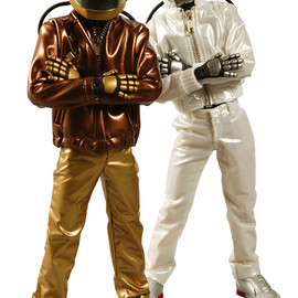 MEDICOM TOY - RAH Guy Manuel de Homem-Christo / Thomas Bangalter