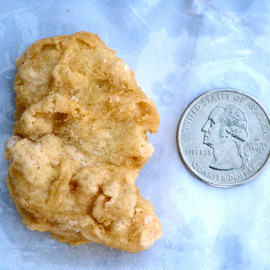 McDonald - Chicken McNugget 'resembling first US president'