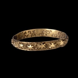 18th century poesy ring. - Inscription reads: Many are the stars I see but in my eye no star like thee.