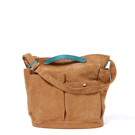 hobo - Suede Leather Tool Shoulder Bag