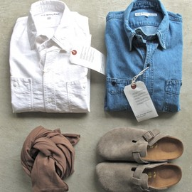 DAILY WARDROBE INDUSTRY - 1st STANDARD SHIRTS (OPEN) / DENIM