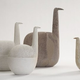 Beautiful Ceramic Figures by Jane Muir
