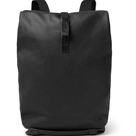 Brooks England - Pickwick Leather-Trimmed Canvas Backpack