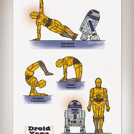Rob Osborne - Star Wars Yoga Posters
