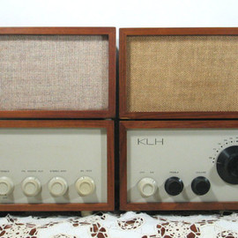 null - Rare KLH Model Eight and Thirteen with 2 Original Speakers