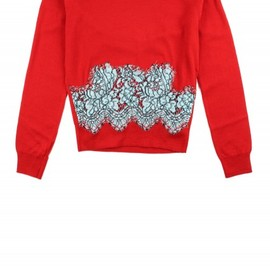 Carven - Lace Sweater