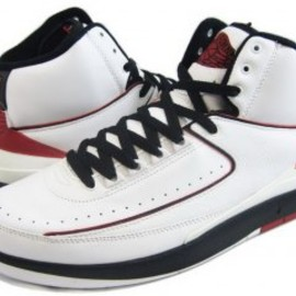 NIKE - AIR JORDAN 2 RETRO (II/White Varsity Red)