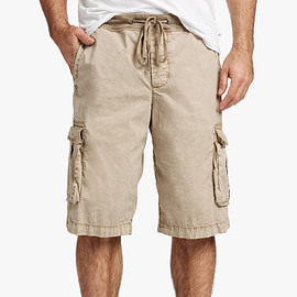 JAMES PERSE - STRETCH POPLIN CARGO SHORT