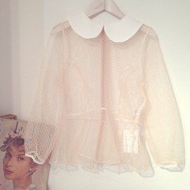 Girly Rose - Sheer Blouse