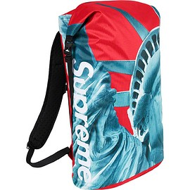 Supreme - Supreme®/The North Face® Statue of Liberty Waterproof Backpack (Red)
