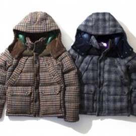THE NORTH FACE PURPLE LABEL - ダウンジャケット(Harris Tweed)