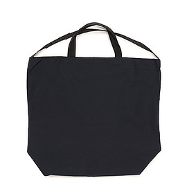 ENGINEERED GARMENTS - Carry All Tote W/Strap-Cotton Double Cloth-Dk.Navy