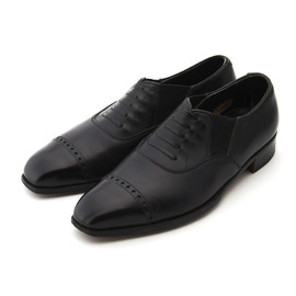 George Cleverley - Lazy -Man Style Side Elastic Punched Cap Toe (Bespoke)