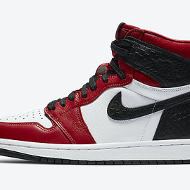 "NIKE - Air Jordan 1 Retro High OG ""Satin Red"""
