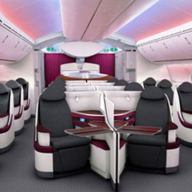 Qatar Airways - New Business & Economy Seats