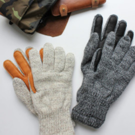 NEWBERRY KNITTING Newteck lined ragg wool Glove