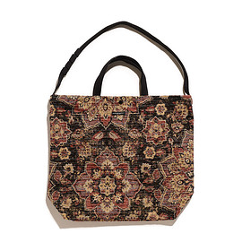 ENGINEERED GARMENTS - Carry All Tote Rug Jacquard-Multi Tabriz