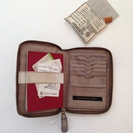 CHRISTIAN PEAU - PASSPORT CASE