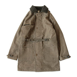 TATAMIZE - TATAMIZE MACKINAW COAT OLIVE