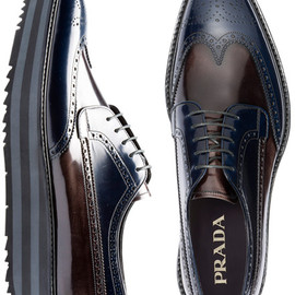 PRADA - LACE-UP shoes CUSTOMIZED