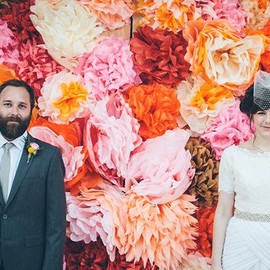 Colorful Los Angeles wedding | photo by Caleb John Hill Photography | 100 Layer Cake