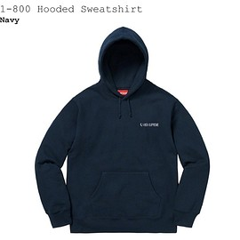 Supreme - 1-800 Hooded Sweatshirt
