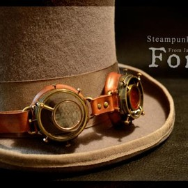 Forêt - Steampunk Goggles