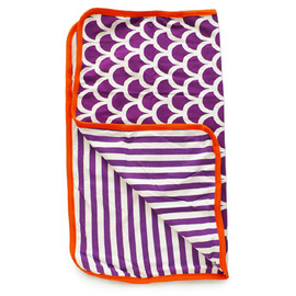 Plastisock - Baby blanket / purple scale
