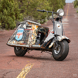 Colby Thompson - 1947 Cushman 60 Series motor scooter