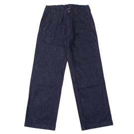 heller's cafe - Two Hip-Pockets Balloons Label Denim Trousers