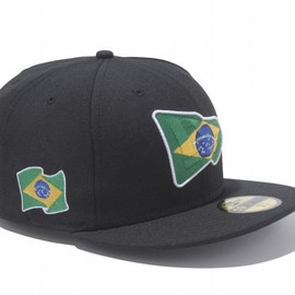 New Era - 59FIFTY National Flag BRAZIL