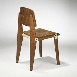 Jean Prouve - Wooden chair, demontable