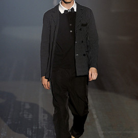 Y-3 - 11ss LOOK19  DOT PRINTED DOUBLE JACKET