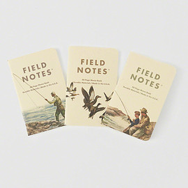 Abercrombie & Fitch, FIELD NOTES - Mens Field Notes 3-Pack