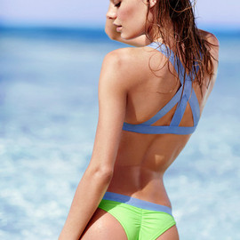 Victoria's Secret - Camille Rowe for VS Swim 2014