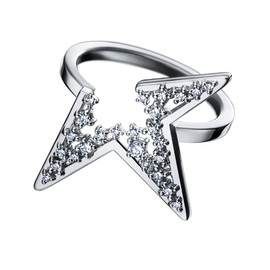 TASAKI - abstract star Ring