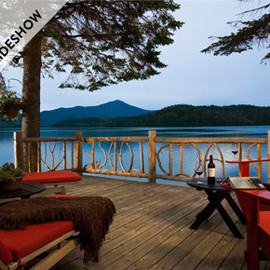 Outdoor Living - Lake Placid Lodge