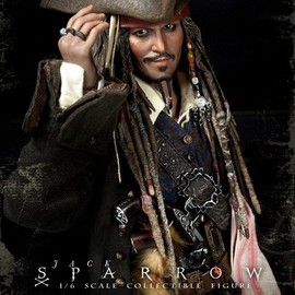 hot toys - Pirates of the Caribbean Jack Sparrow figure