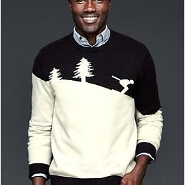GAP - Ski man crew sweater