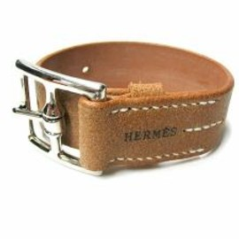 HERMES - Leather Bracelet