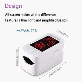Belifu - Finger Pulse Oximeter Oxygen Saturation Monitor