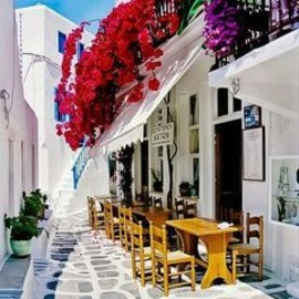LOVE♥Greece - Mykonos Greece Follow Instagram: ohsoteaco,  They say Greece is a lovely place to visit