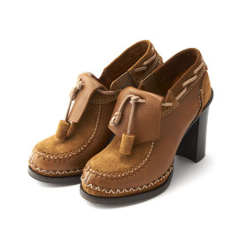 b STORE - Suede & Leather Shoe Boots