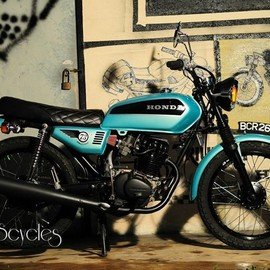 KerkuS CycleS - HONDA CG 125 RESTORATION