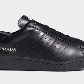 PRADA, adidas - Prada x adidas Superstar Triple Black
