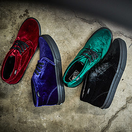 VANS - VANS CHUKKA VELVET BILLY'S ENT EXCLUSIVE