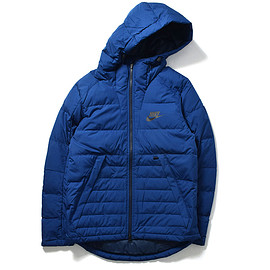 NIKE - DOWN FILL HOODED JACKET